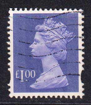 1995 Великобритания. Королева Елизавета II. 1 £ [imp-14284] 1