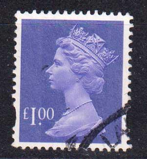 1995 Великобритания. Королева Елизавета II. 1 £ [imp-14285] 1