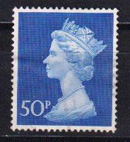 1970 Великобритания. Королева Елизавета II. 50 Р [imp-14294] 22