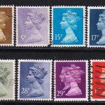 1970 Великобритания. Королева Елизавета II. 50 Р [imp-14294] 4