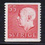 1969 Швеция. Король Густав VI Адольф [imp-14315] 2