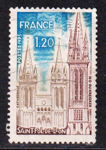 1975 Франция. Санкт-Поль-де-Леон [imp-14348_gt] 1