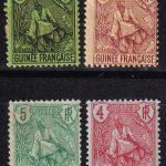 """1892 Мартиника. Надпись """"МАРТИНИК"""" красным или синим цветом [imp-14359_gt] 4"""