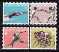 1958 Лихтенштейн. Спорт [imp-14413] 9