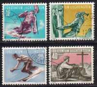 1958 Лихтенштейн. Спорт [imp-14420] 17