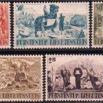 1942 Лихтенштейн. 600 лет со дня отделения Лихтенштейна от Дома Монфор [imp-14425] 2