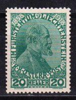 1918 Лихтенштейн. 60 лет регентству принца Иоганна II [imp-14438] 34
