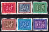 1953 Люксембург. Люксембургский фольклор [imp-14445] 12