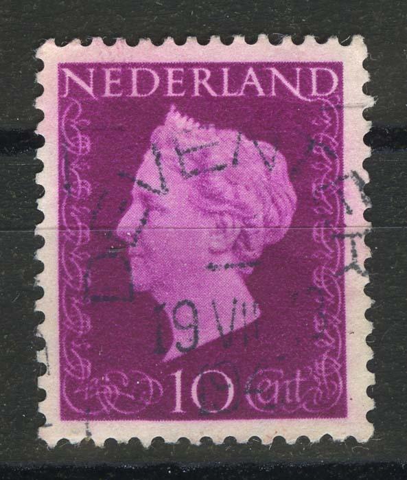 "1947. Нидерланды. Серия ""Королева Вильгельмина"", 1/13, (•) [15195] 1"