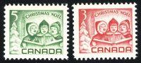"""1967. Канада. Серия """"Рождество"""", 2/2, ** [15256] 1"""