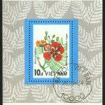 """1989. Камбоджа. Блок """"Водяные лилии. """"Paul Hariot"""", 59 x 81 mm, (//) [KH1058_1] + 2"""