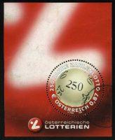 "2002. Австрия. Блок ""Австрийская лотерея"", 72 x 90 mm, (//) [AT2444_1] 2"