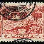 """1927. Швейцария. Серия """"PRO JUVENTUTE"""", 1/4, * [CH222] 2"""