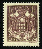 """1937. Монако. Серия """"Гербы"""", 1/6, * [MC143] 28"""