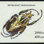 """1974. Либерия. Авиапочта. Блок """"Венгерский кувас (Canis knownis)"""", 114 x 76 мм, (//)** [LR985] 2"""