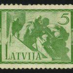 """1937. Латвия. Серия """"Монументы"""", 1/5, (•) [LV200] 3"""