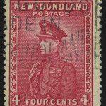 """1932. Ньюфаундленд. """"Бумажные фабрики Corner Brook Paper Mills"""", *, ВЗ, [CAN198] 2"""