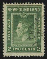 """1938. Ньюфаундленд. """"Король Георг VI"""", (*), ВЗ, 12½ [CAN240_1] 5"""