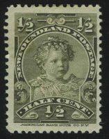 "1897. Ньюфаундленд. ""Принц Эдуард, позже герцог Виндзорский"", * [CAN69] 4"